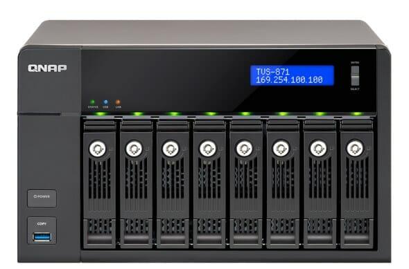 QNAPでRAID6のHDDを交換(EC880で2本目)