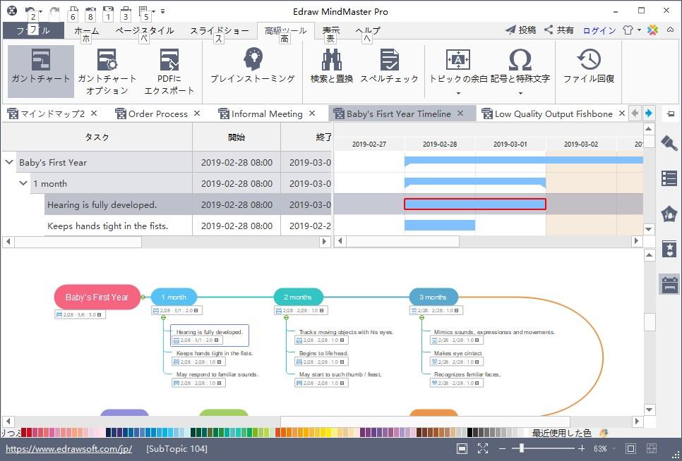マインドマップソフト『MindMaster』1年経過レビュー-メリット
