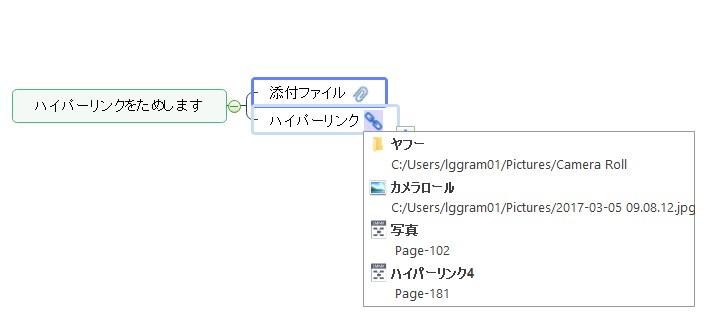 マインドマップの情報量を各段にUPさせる『添付ファイル・ハイパーリンク』機能解説【MindMaster】